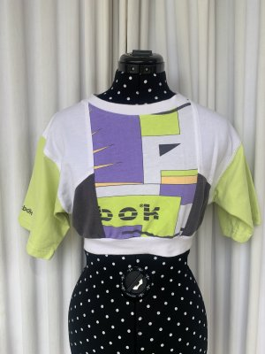 Reebok Sports Shirt multicolored cotton