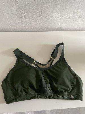 Reebok Sports Shirt lime yellow-forest green