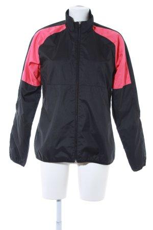 Reebok Sportjacke schwarz-magenta sportlicher Stil