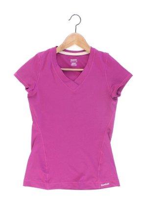Reebok Sports Shirt lilac-mauve-purple-dark violet polyester
