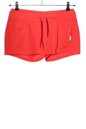 Reebok Short de sport rouge style décontracté