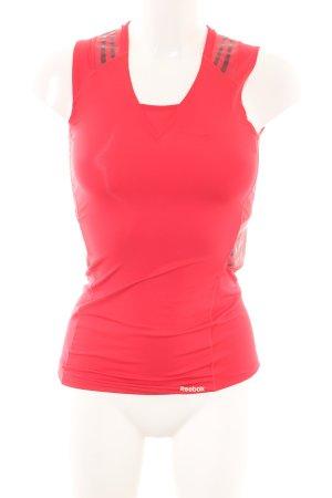 Reebok Sporttop rot sportlicher Stil