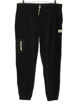 Reebok Sweat Pants black flecked casual look