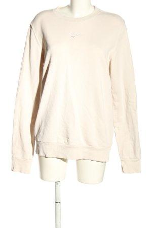 Reebok Bluza dresowa w kolorze białej wełny Wyhaftowany logo W stylu casual