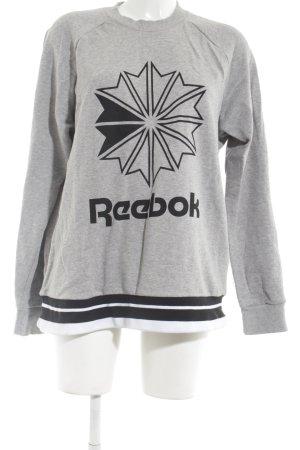 Reebok Sweatshirt meliert Casual-Look