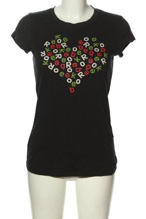 Reebok T-Shirt Schriftzug gedruckt Casual-Look