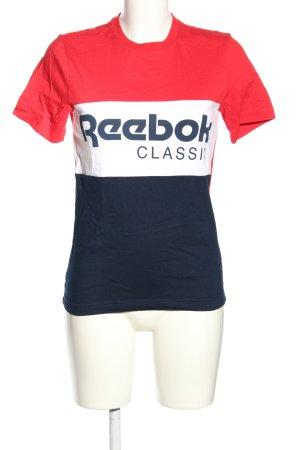 Reebok T-Shirt printed lettering casual look