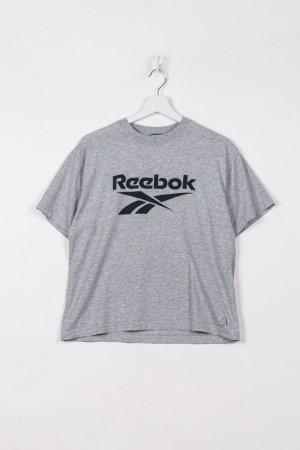 Reebok Sports Shirt grey cotton