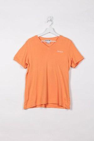 Reebok Sports Shirt orange cotton