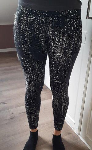 Reebok Pantalon de sport blanc-noir