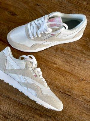 Reebook Classic Sneaker beige weiß - neu - Größe 39 (38,5)