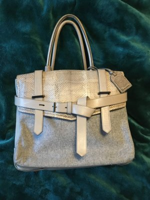 Reed Krakoff Leder / Wolle Boxer Bag
