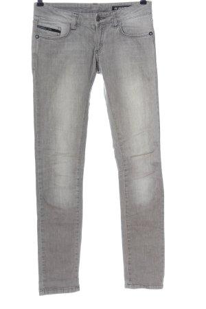Reell Jeans vita bassa grigio chiaro stile casual