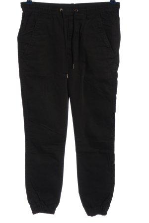 Reell Pantalone jersey nero stile casual