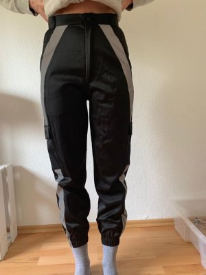 Alive Baggy Pants black-silver-colored