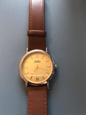 reflex Zegarek ze skórzanym paskiem Wielokolorowy