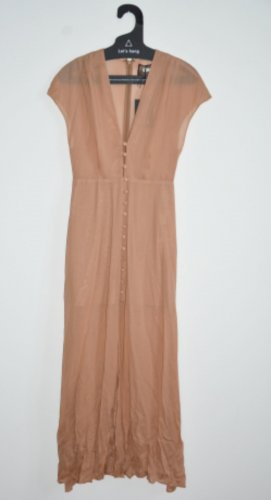 Reformation Kleid Josie Dress Tan Gr. US 4 DE 36 Neu mit Etikett