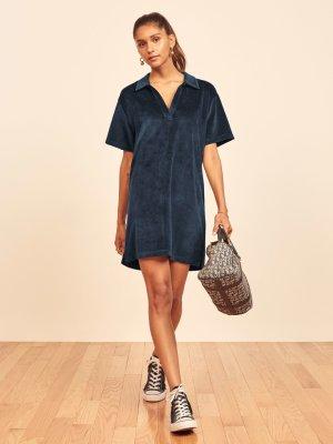 Reformation Nicki Kleid Loungewear Größe M Minikleid Sicily Terry dress NEU ca. 36-40 dt.