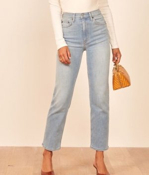 Reformation Relaxed High Waist Jeans 28