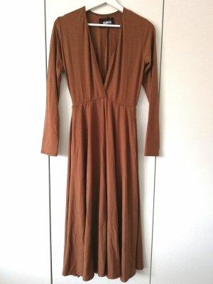 Reformation Reyes Dress Toffee Gr. S 36