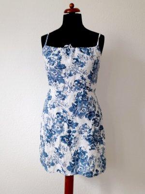 Reformation Violaine Dress Linen Olympia Gr. M 38