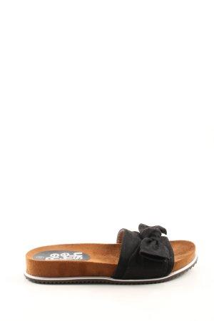 Comfort Sandals black-light orange casual look