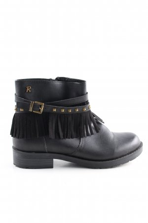 Refresh Botas bajas negro look casual