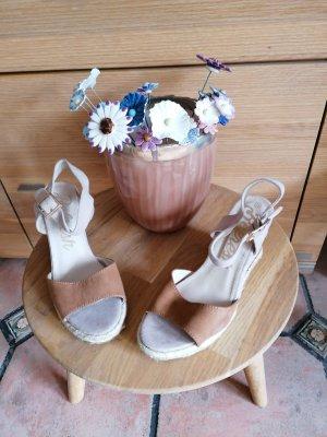Refresh Sandalen beige /braun Gr. 38 neu