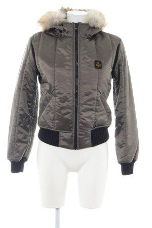 Refrigiwear Blouson silberfarben Casual-Look