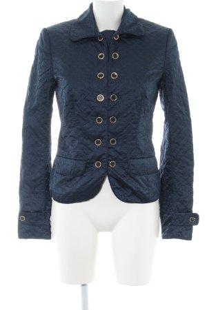 Refrigiwear Blusenjacke blau Steppmuster Business-Look