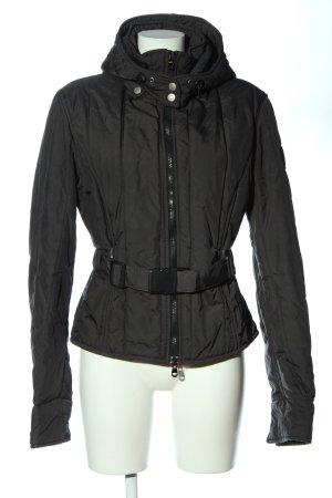 Refrigiwear Veste à capuche noir style décontracté