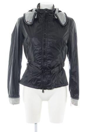 Refrigiwear Regenjacke schwarz-hellgrau Casual-Look