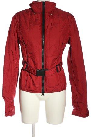 Refrigiwear Kurtka przejściowa czerwony Pikowany wzór W stylu casual