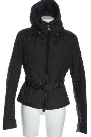 Refrigiwear Giacca invernale grigio chiaro motivo trapuntato stile casual