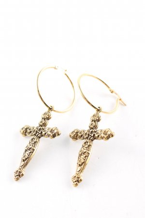 regalrose Boucles d'oreille en or doré style décontracté