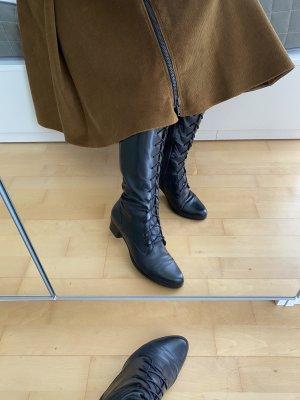 Regarde le Ciel Aanrijg laarzen zwart