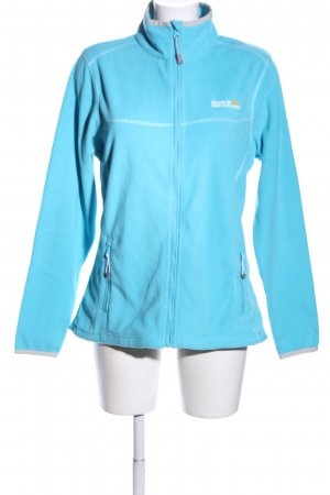 Regatta Fleecejacke blau Casual-Look