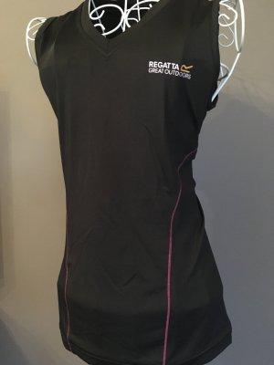 Regatta Canotta fitness nero-rosa