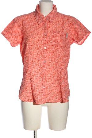 Regatta Short Sleeve Shirt red-white allover print casual look