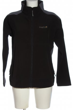 Regatta Chaqueta softshell negro look casual