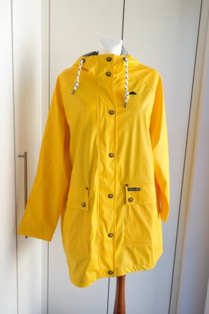 Schmuddelwedda Heavy Raincoat yellow polyester