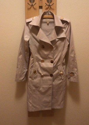 Sisley Heavy Raincoat cream polyester