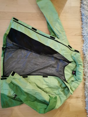 Raincoat lime-green