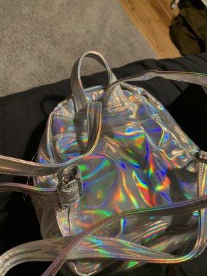 Regenbogen Metallic Rucksack