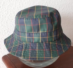 no name Rain Cap slate-gray-forest green