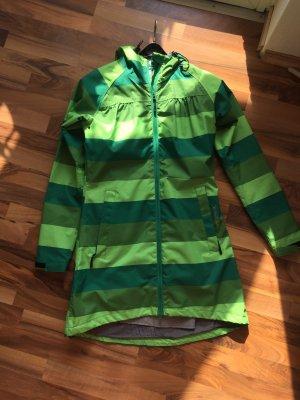Just Raincoat green-olive green