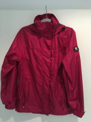 Raincoat raspberry-red