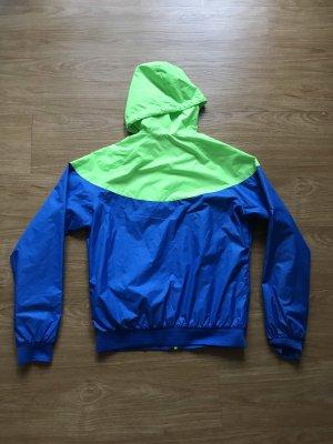 Nike Impermeabile verde neon-blu