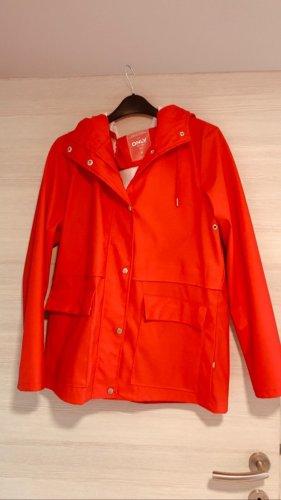 Only Regenjas rood