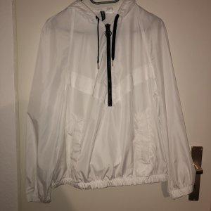 H&M Regenjas wit-zwart
